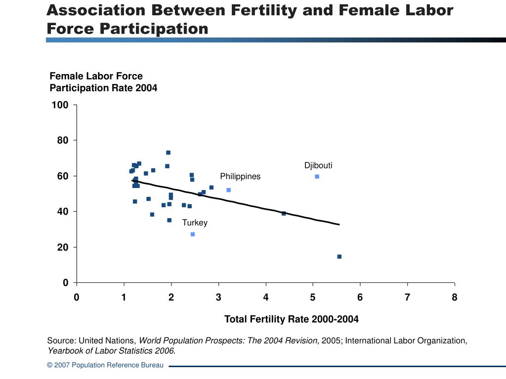 Association Between Fertility and Female Labor Force Participation