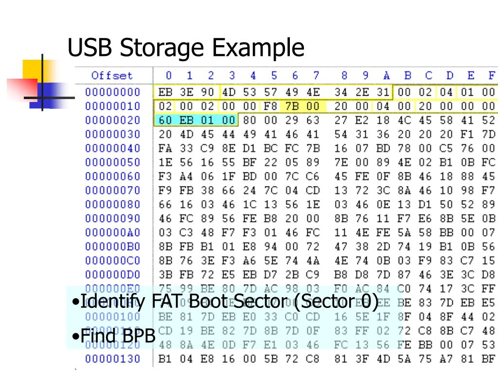 USB Storage Example