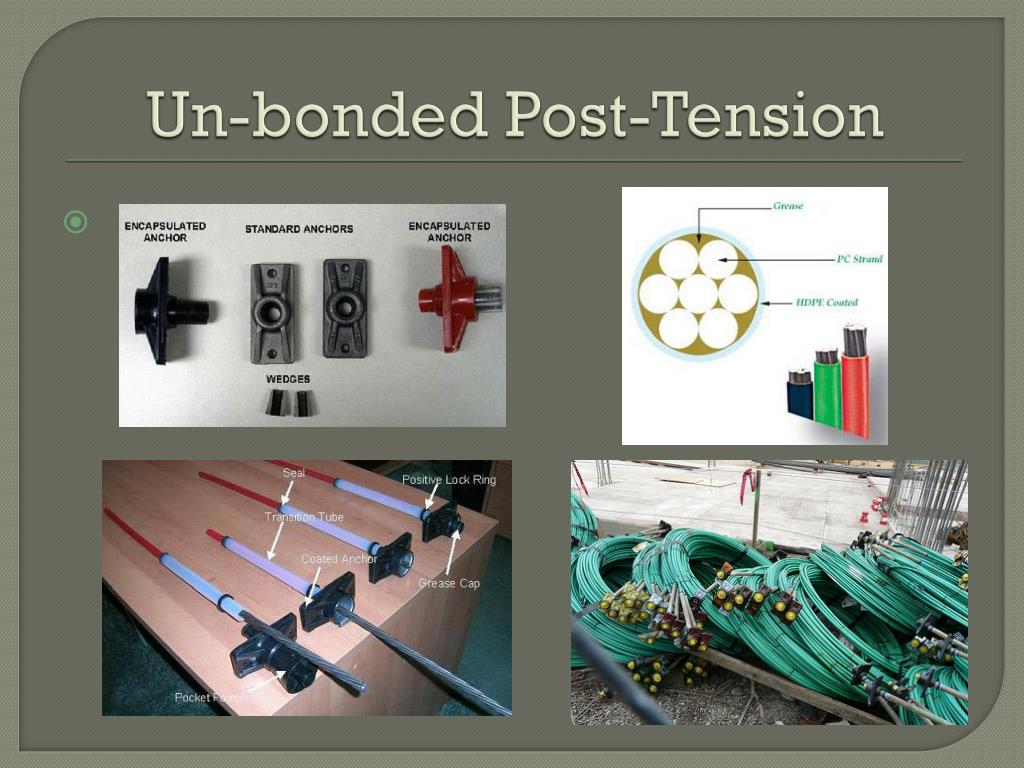 Bonded Post Tensioning : Ppt pre stressed concrete powerpoint presentation id