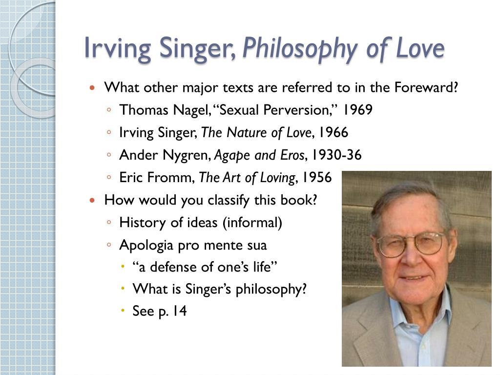 Irving Singer,