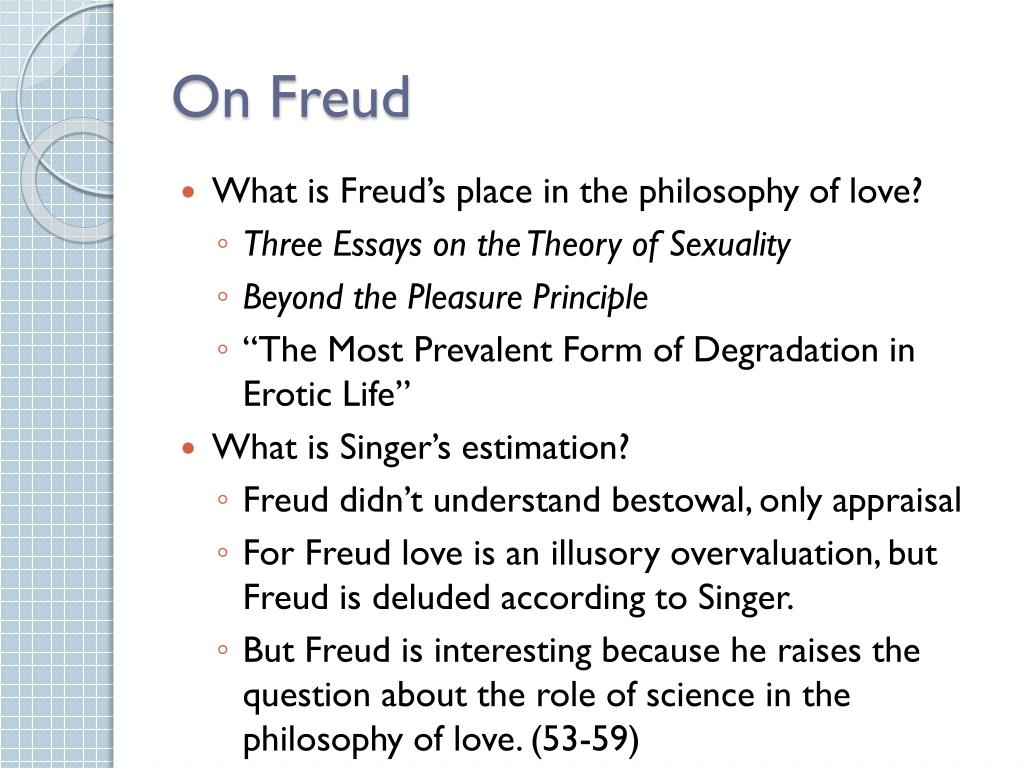On Freud