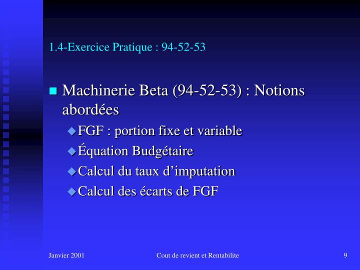 1.4-Exercice Pratique : 94-52-53