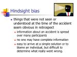 hindsight bias26