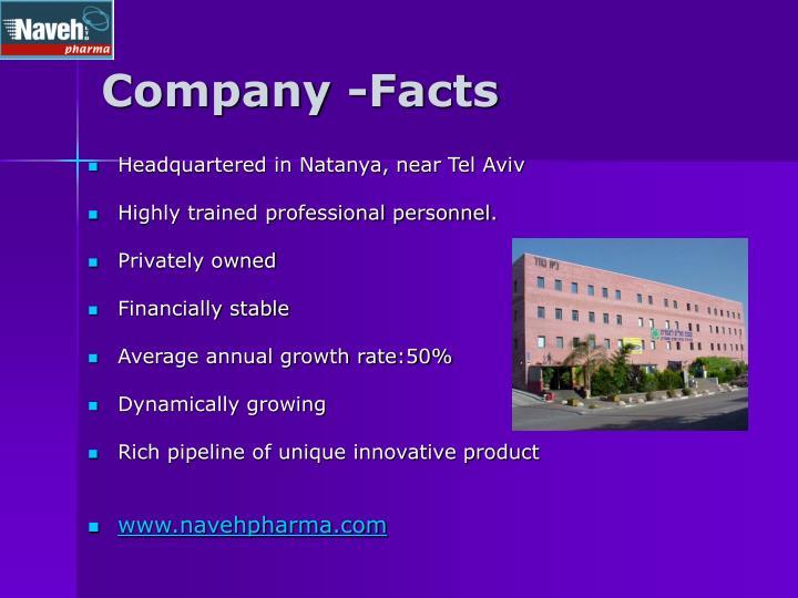 Company -Facts