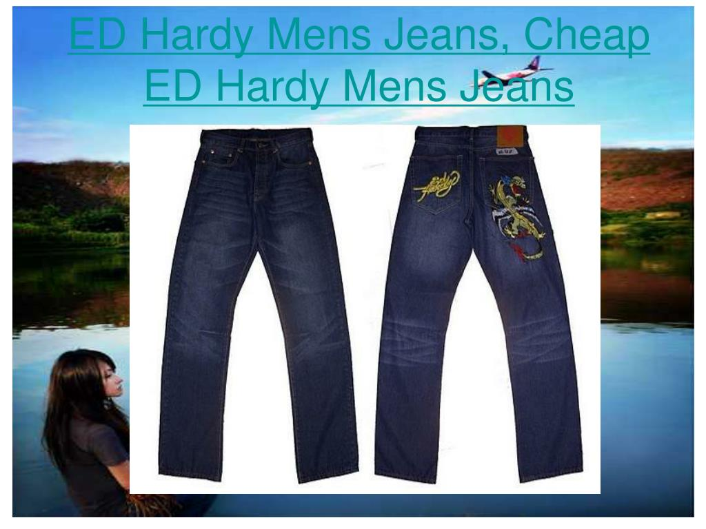ED Hardy Mens Jeans, Cheap ED Hardy Mens Jeans