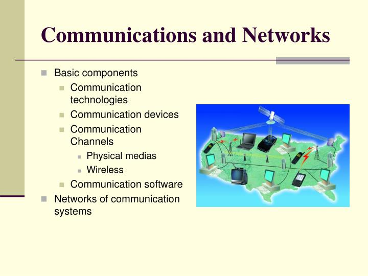 Communications and networks l.jpg