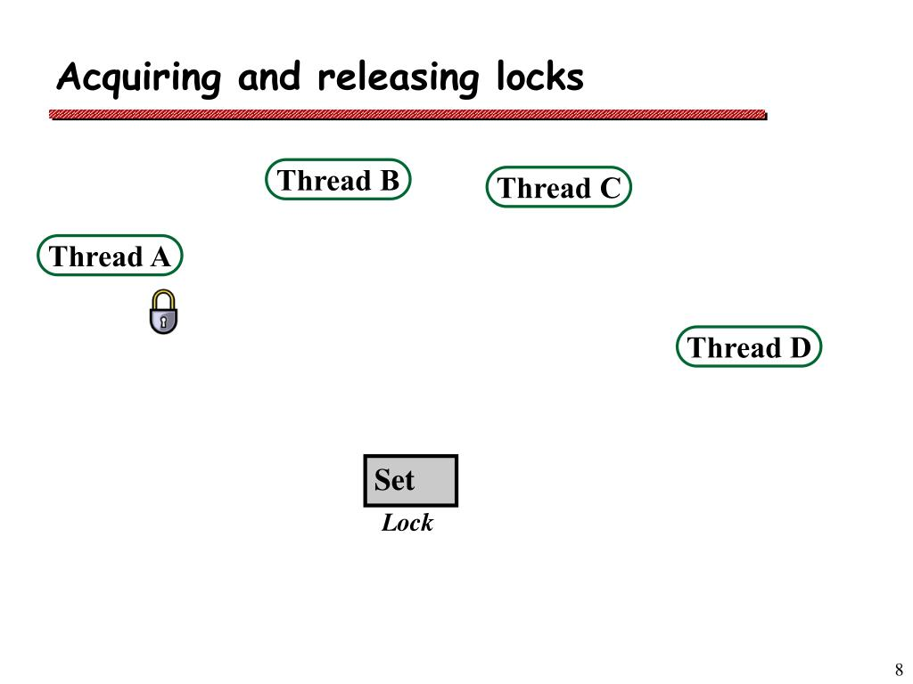 Acquiring and releasing locks