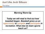 just like josh gibson thursday114