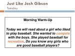 just like josh gibson tuesday47