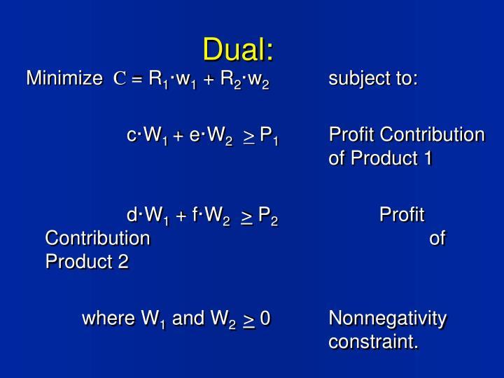Dual: