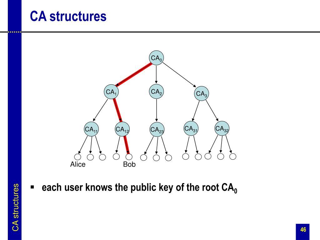 CA structures