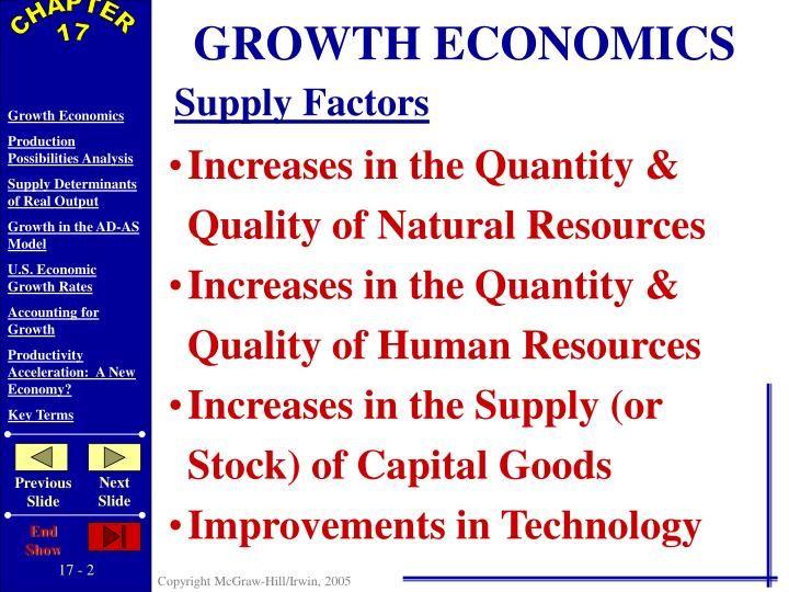 GROWTH ECONOMICS