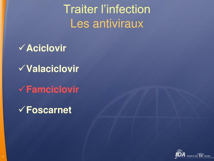 Traiter l'infection