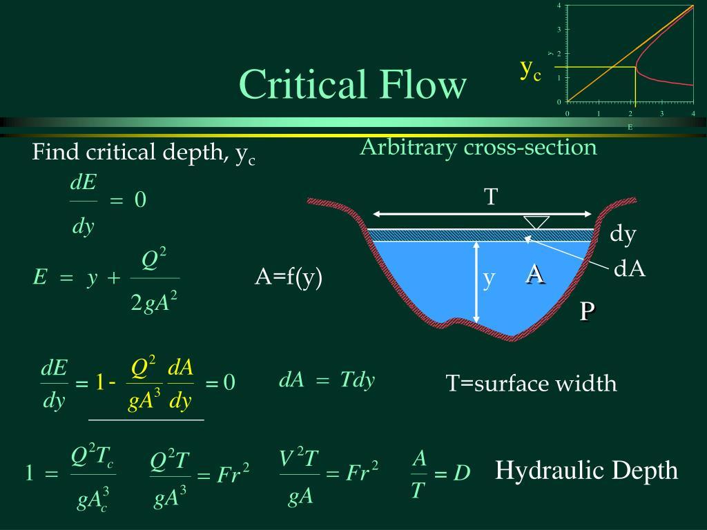 Critical Flow