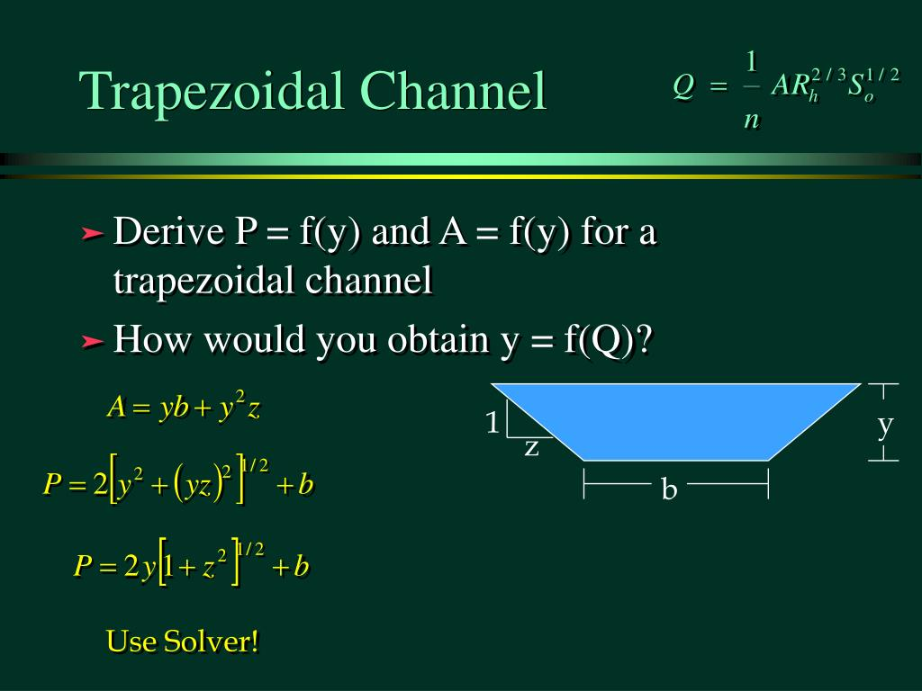 Trapezoidal Channel