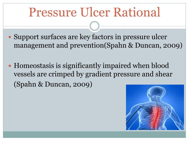 Pressure Ulcer Rational