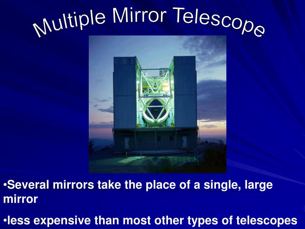 Multiple Mirror Telescope