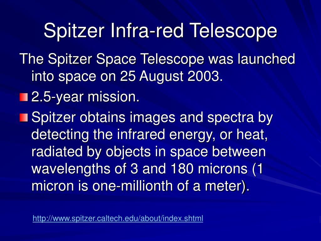 Spitzer Infra-red Telescope