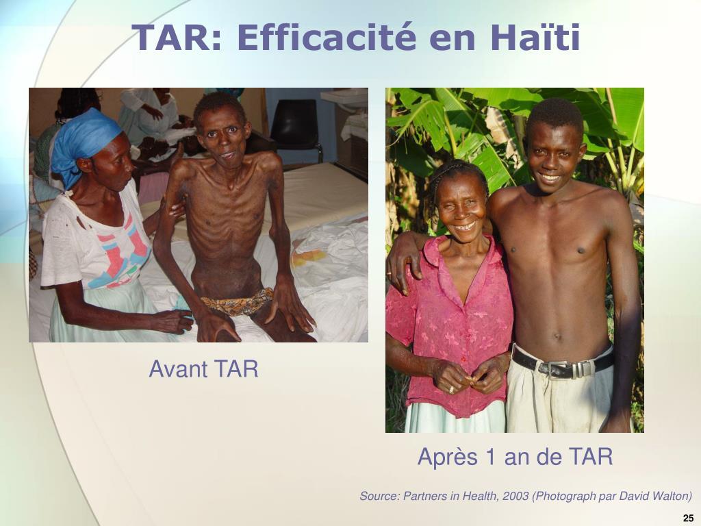 TAR: Efficacit