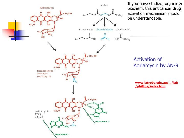 If you have studied, organic & biochem, this anticancer drug activation mechanism should be understandable.