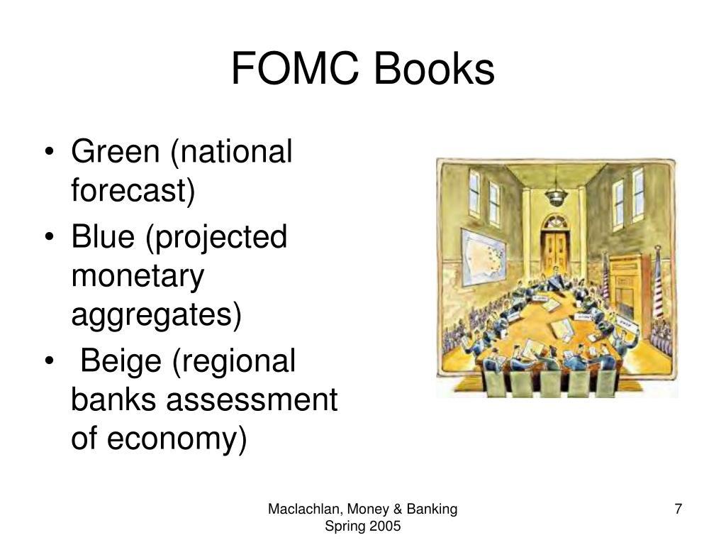 FOMC Books