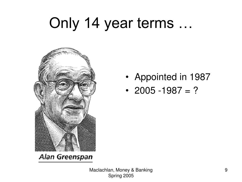 Only 14 year terms …