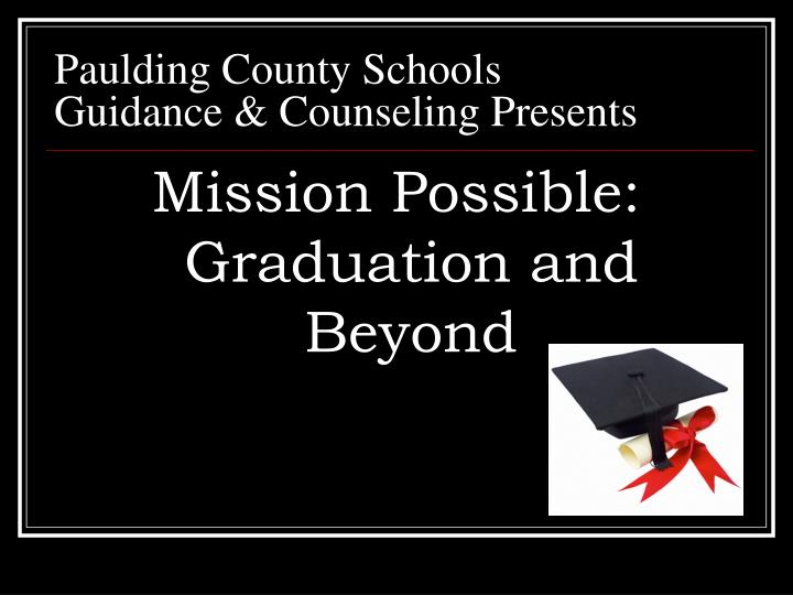 Paulding county schools guidance counseling presents