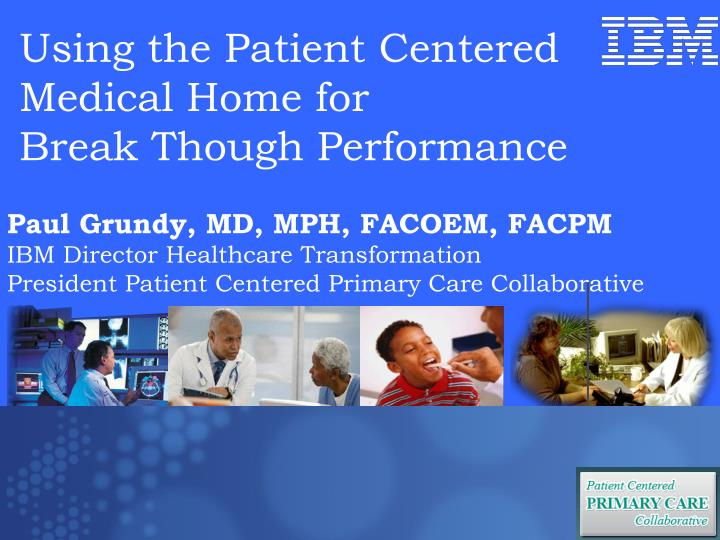 Paul Grundy, MD, MPH, FACOEM, FACPM