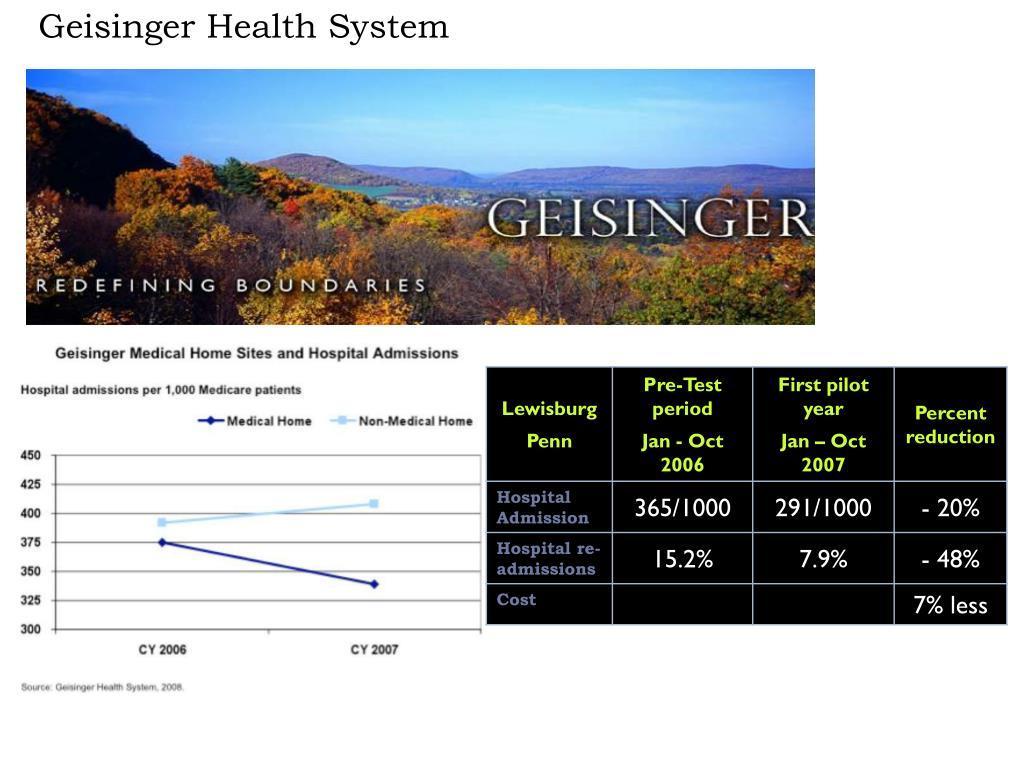 Geisinger Health System