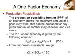a one factor economy23