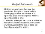 hedge s instruments12