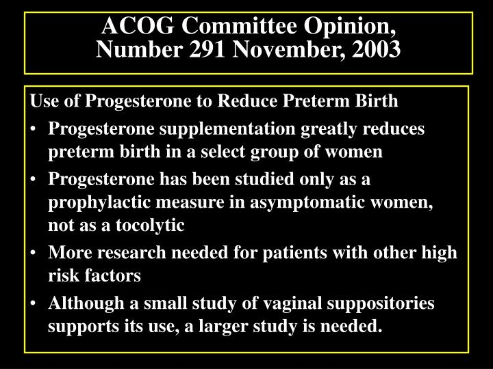 progesterone for maintenance tocolytic therapy after threatened preterm labour essay