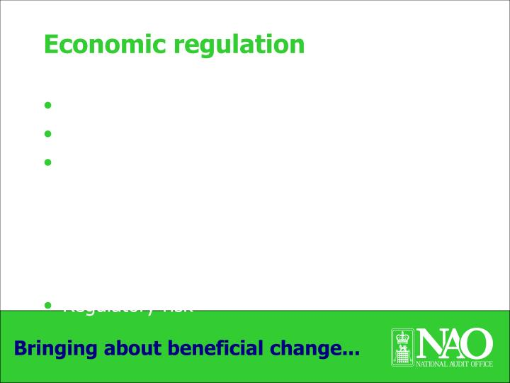 Economic regulation