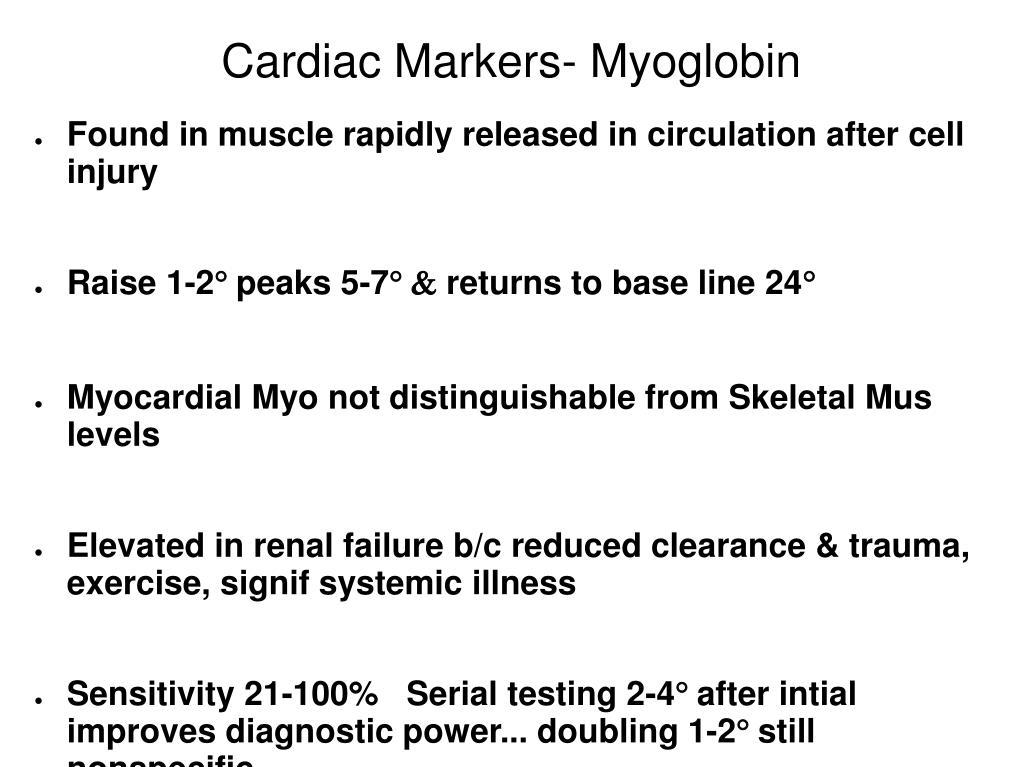 Cardiac Markers- Myoglobin