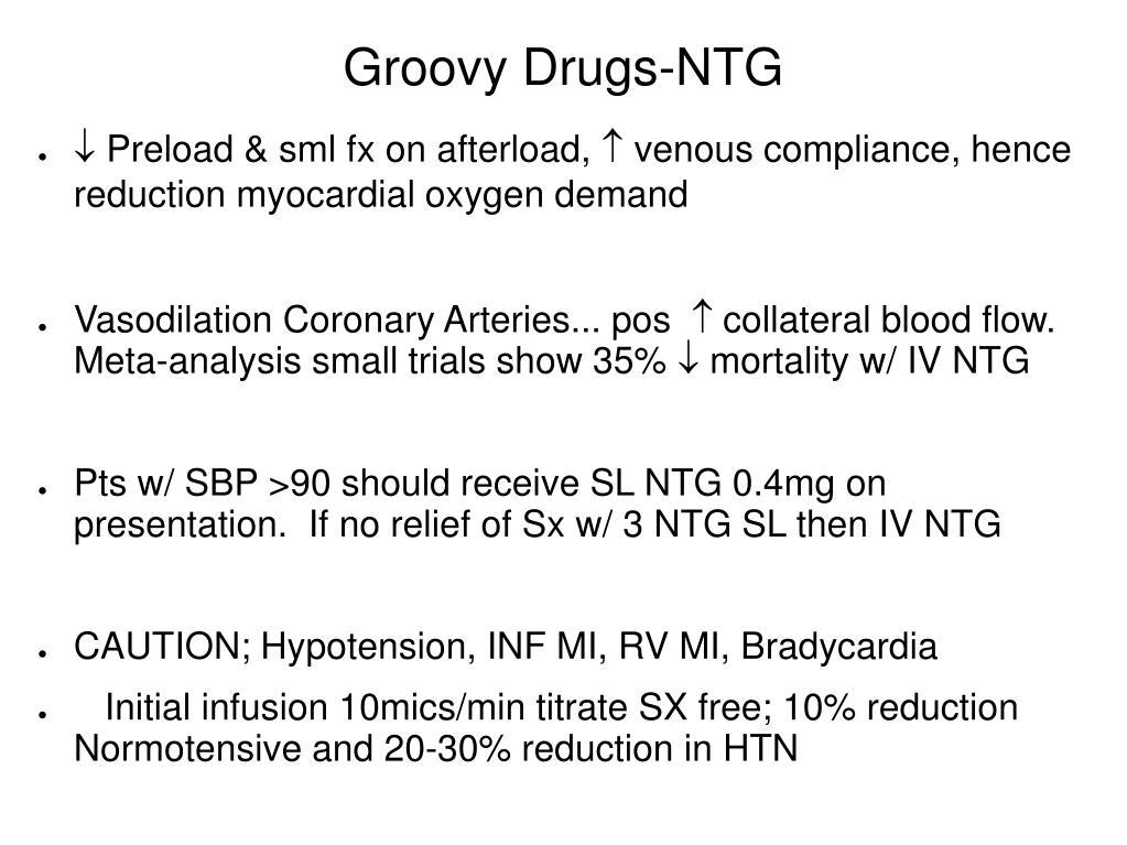 Groovy Drugs-NTG