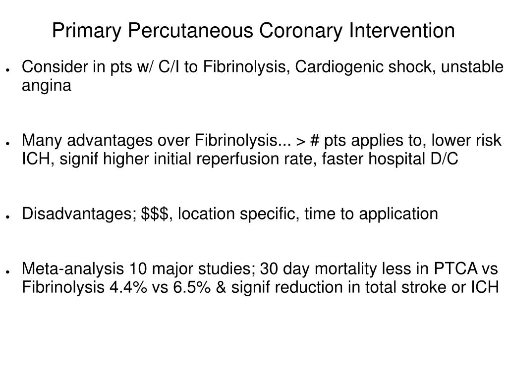 Primary Percutaneous Coronary Intervention