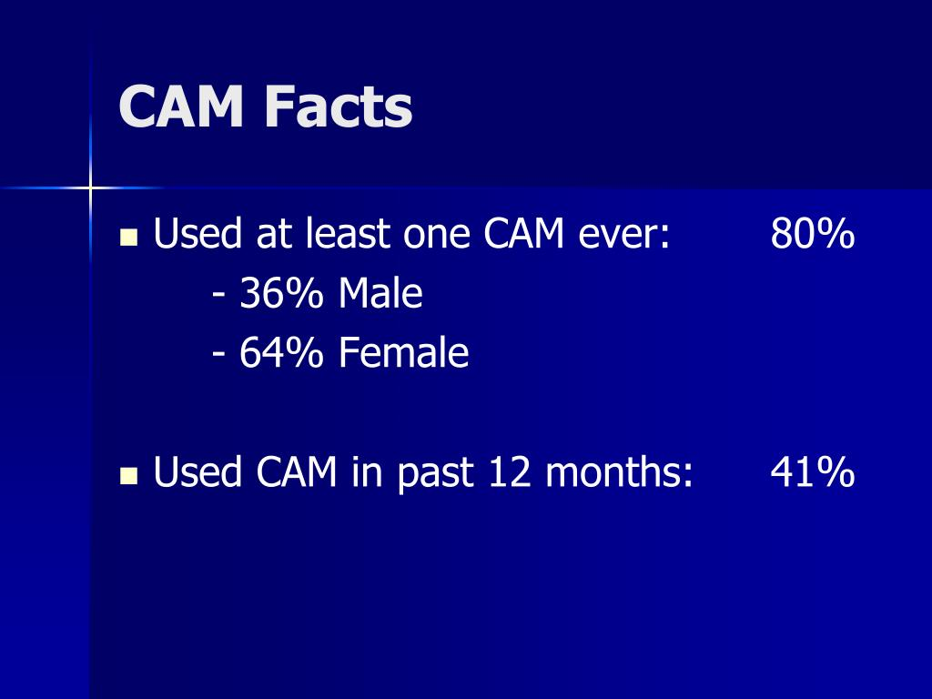 CAM Facts