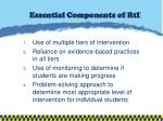 essential components of rti