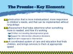 the promise key elements