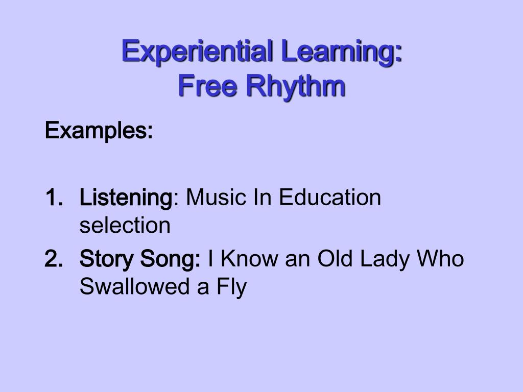Experiential Learning: