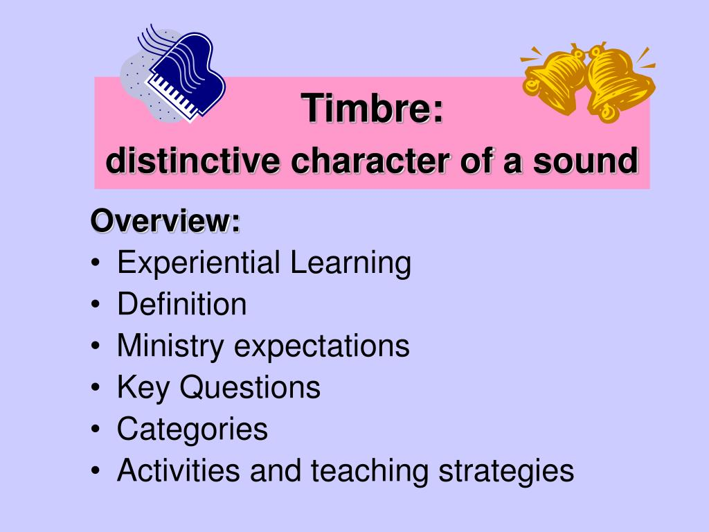 Timbre: