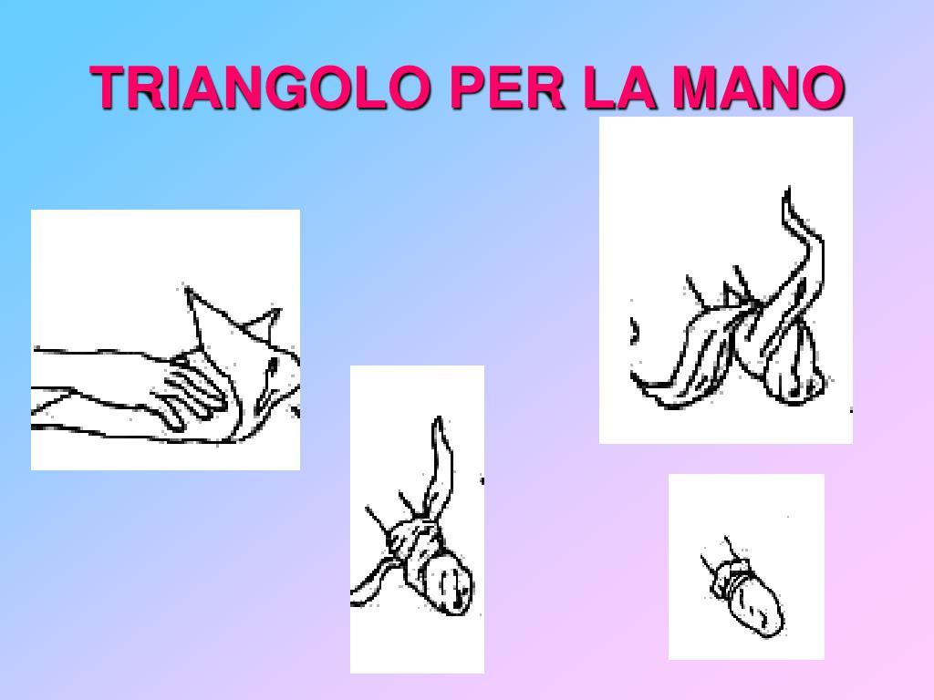 TRIANGOLO PER LA MANO