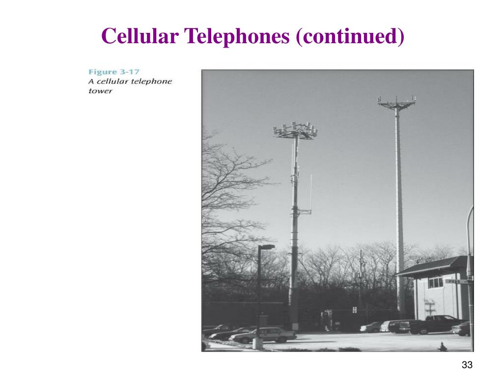 Cellular Telephones (continued)