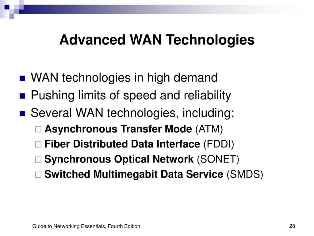 Advanced WAN Technologies