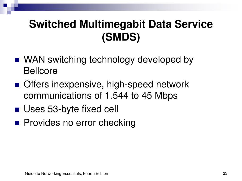 Switched Multimegabit Data Service (SMDS)