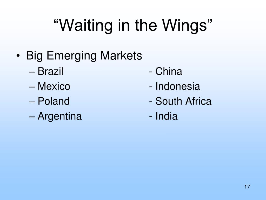 """""""Waiting in the Wings"""""""