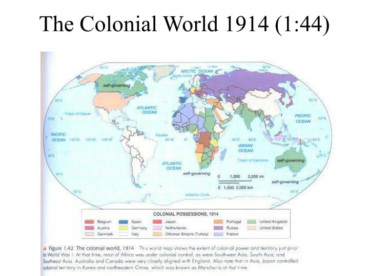 The Colonial World 1914 (1:44)