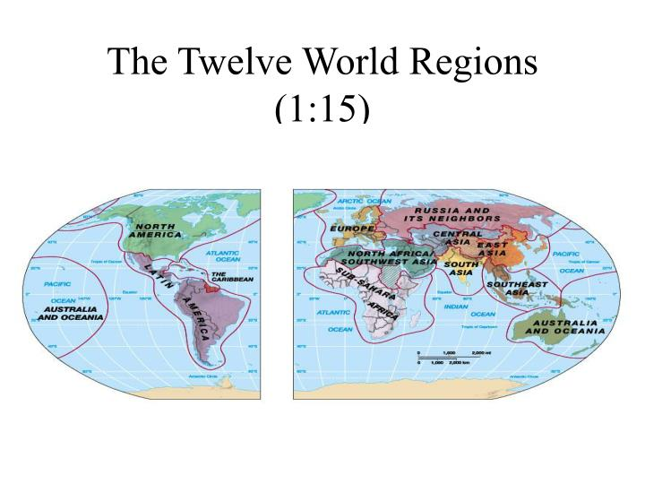The Twelve World Regions (1:15)