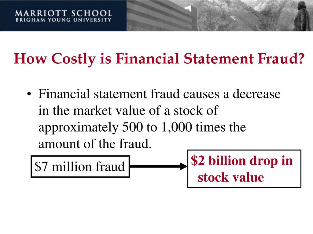 How Costly is Financial Statement Fraud?