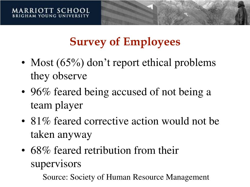 Survey of Employees